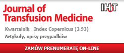 Journal of Transfusion Medicine